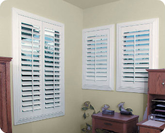 ... Shutter Interior. on faux wood plantation shutters home depot